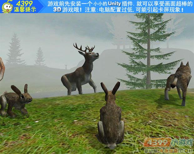 这是一款模拟现实野生365棋牌娱乐城_365棋牌唯一官网活动_365棋牌电脑下载手机版下载扮演游戏,在原始森林里有着狐狸,大黑熊